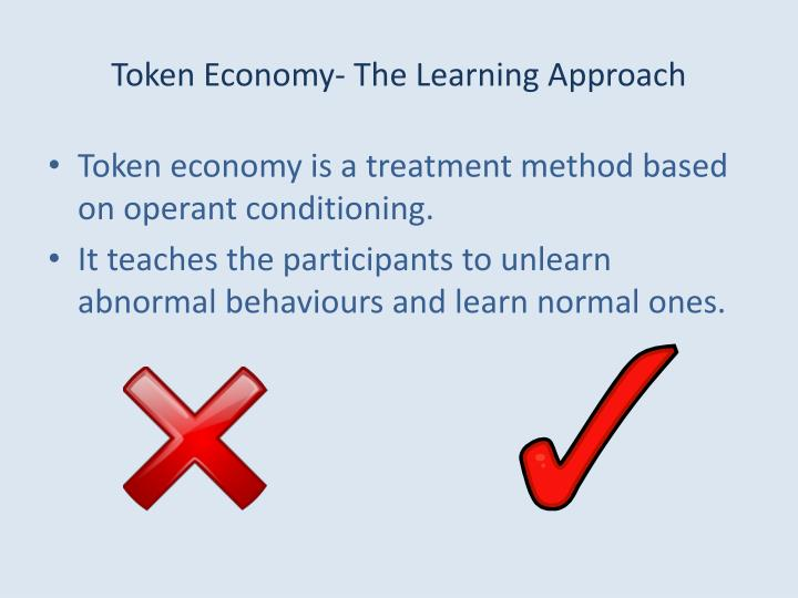 Token economy the learning approach