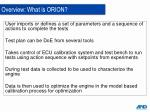 overview what is orion1