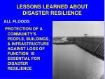 lessons learned about disaster resilience3