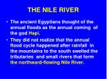 the nile river1