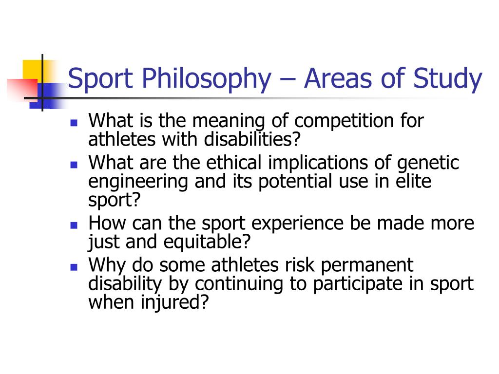 what is sport philosophy definition