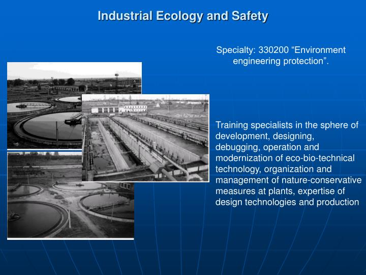 industrial ecology and safety n.