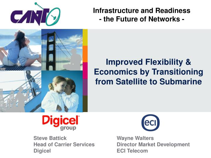 improved flexibility economics by transitioning from satellite to submarine n.