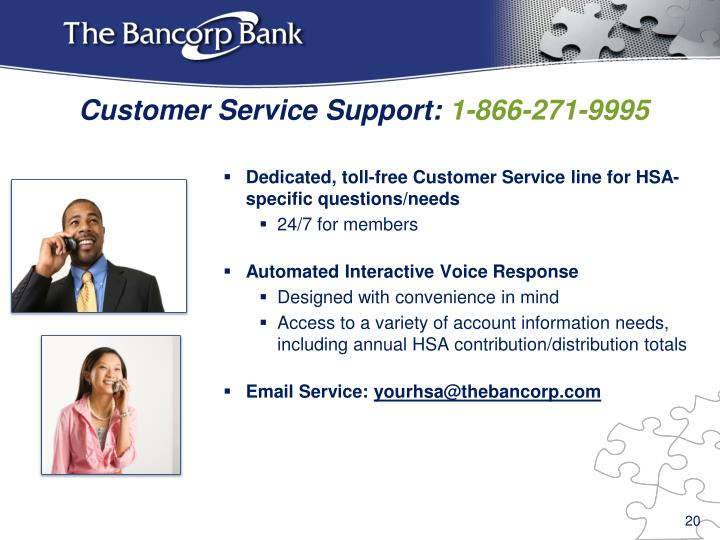 Dedicated, toll-free Customer Service