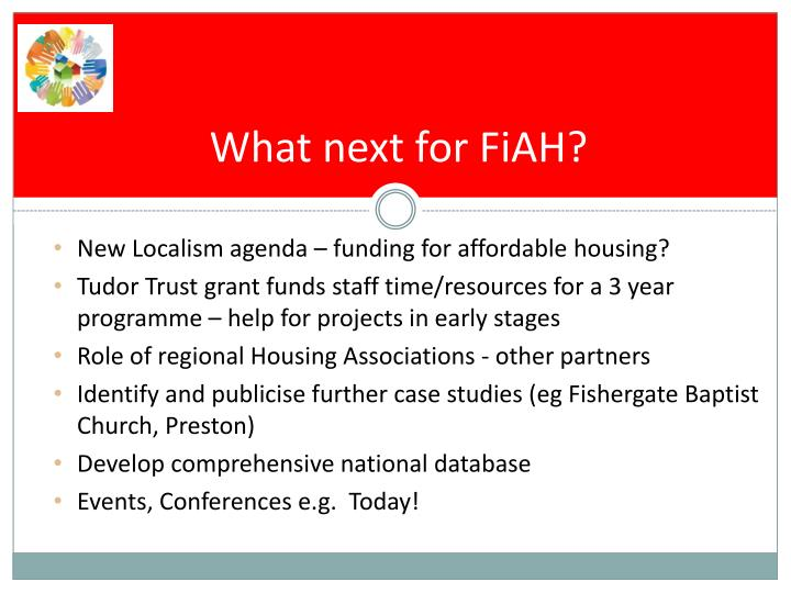 What next for FiAH?