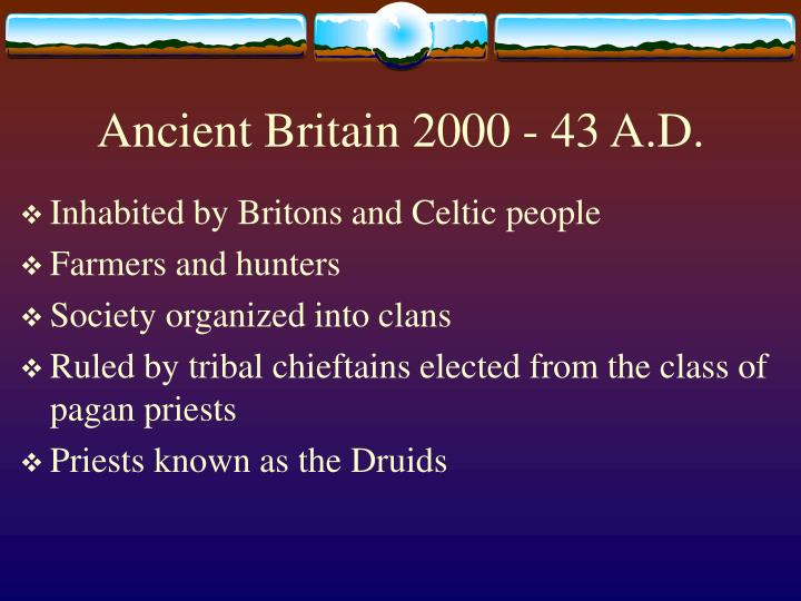 an analysis of the rule and culture of early anglo saxons in britain The anglo-saxon settlement of britain describes the process which changed the language and culture of most of what became england from romano-british to germanic the germanic-speakers in britain, themselves of diverse origins, eventually developed a common cultural identity as anglo-saxons.