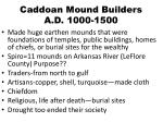 caddoan mound builders a d 1000 1500