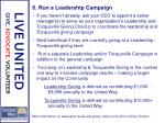 6 run a leadership campaign