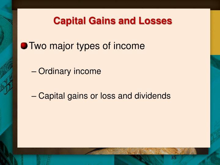 Capital Gains and Losses