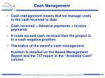 cash management1
