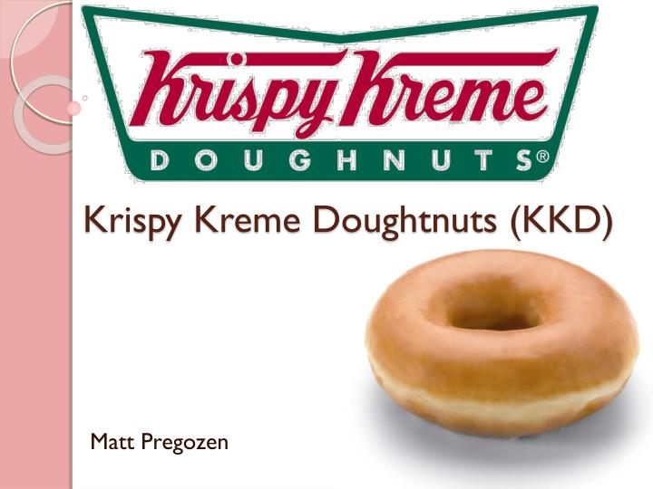 the health of krispy kreme essay Krispy kreme had with its consumers instead of maintaining the integrity of their recipe and business practices, they decided to lower overhead and attempted to make the cost per product decrease.