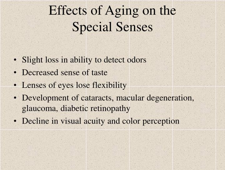 Effects of Aging on the