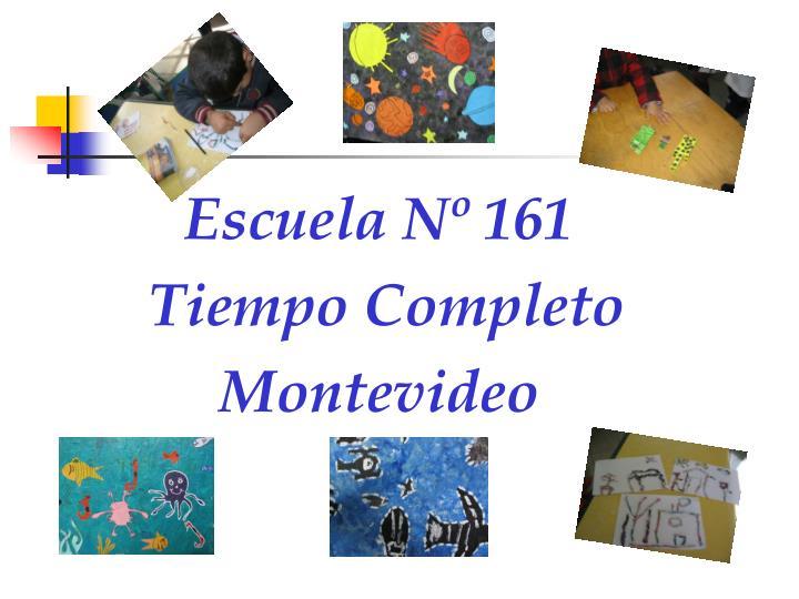 Escuela Nº 161