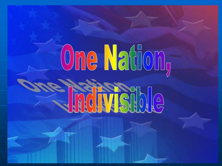 One Nation,