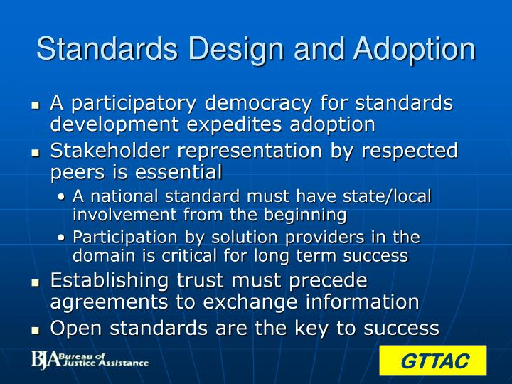 Standards Design and Adoption