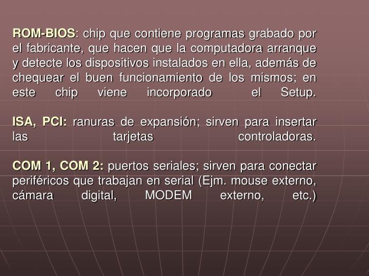 ROM-BIOS