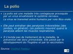 la polio