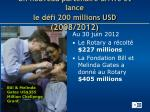 un nouveau partenaire arrive et lance le d fi 200 millions usd 2008 2012