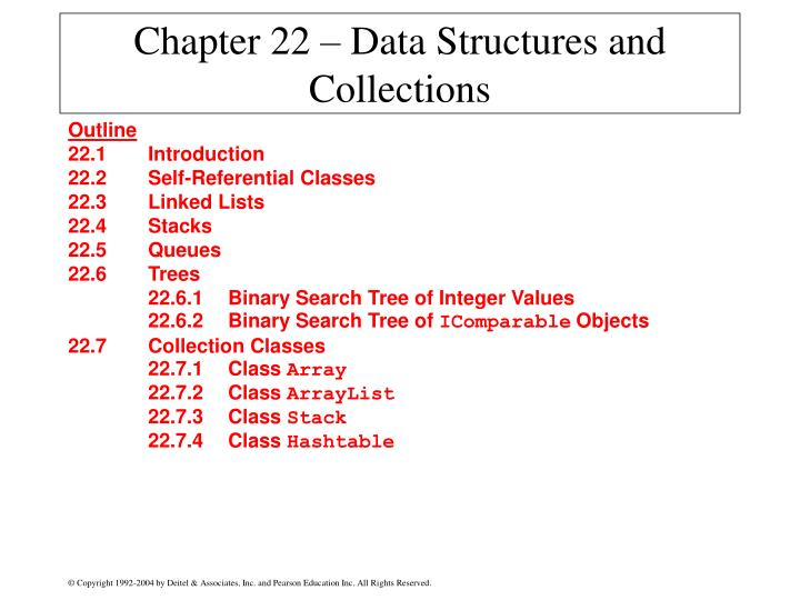 chapter 22 data structures and collections n.