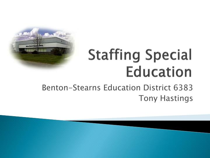 staffing special education n.
