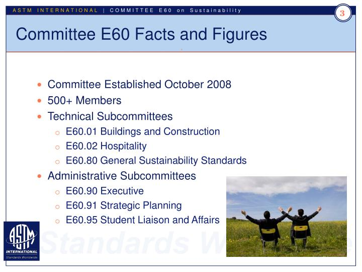 Committee e60 facts and figures