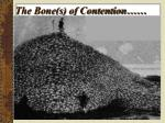 the bone s of contention
