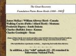 the great recovery foundation plains bison herds 1888 1905