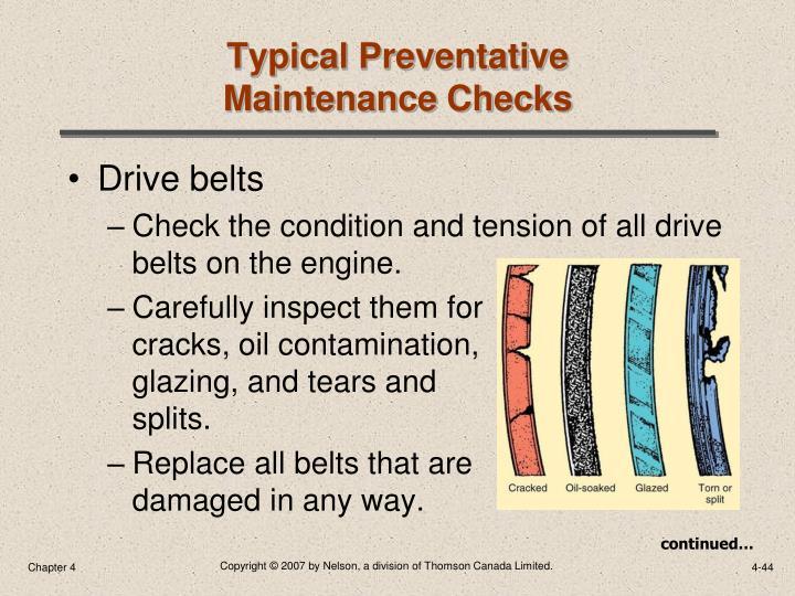 Typical Preventative