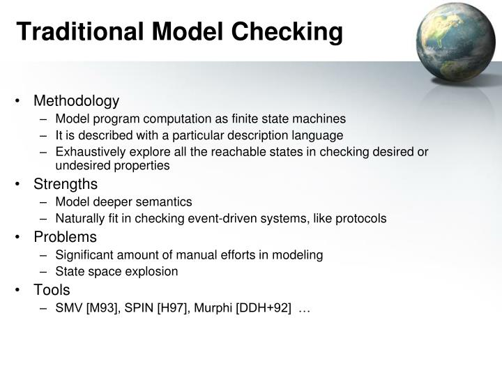 Traditional Model Checking