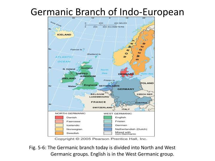 Germanic Branch of Indo-European