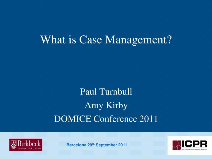 what is case management n.