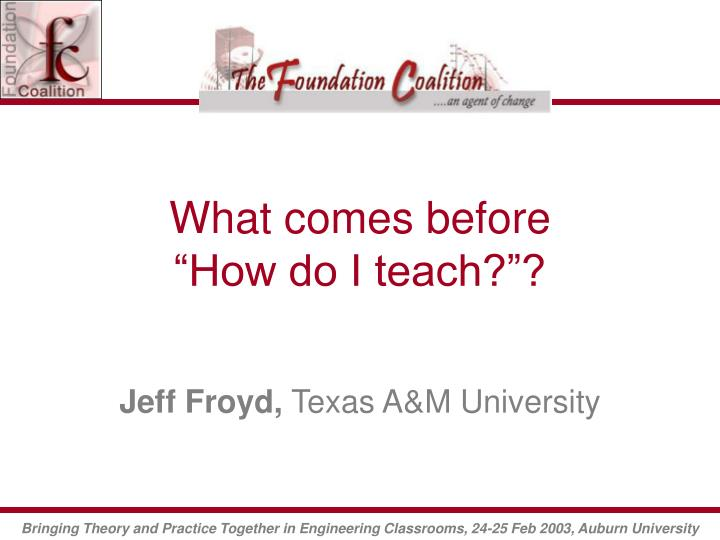 what comes before how do i teach n.