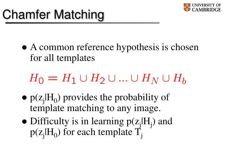 Chamfer Matching