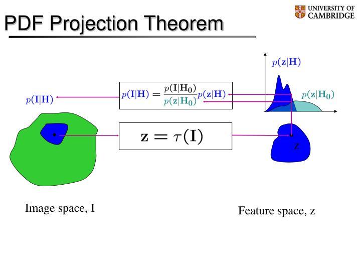 PDF Projection Theorem