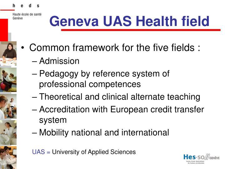 Geneva uas health field1