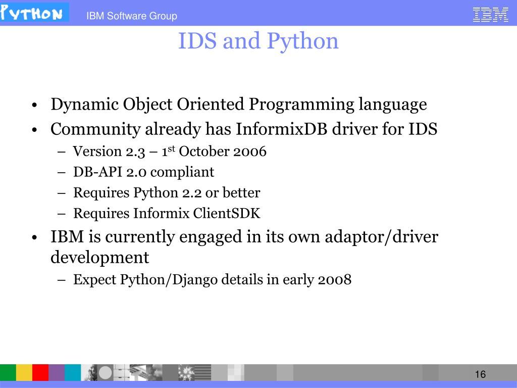 PPT - IDS Cheetah – An Agile Choice for Application