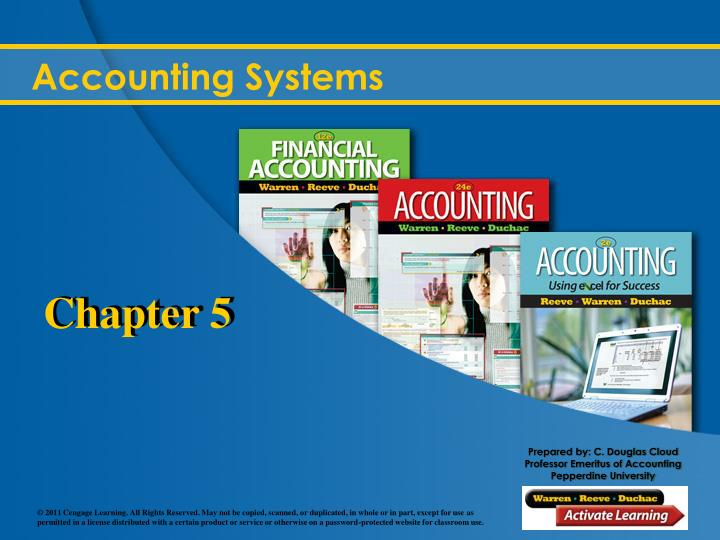 accounting systems n.