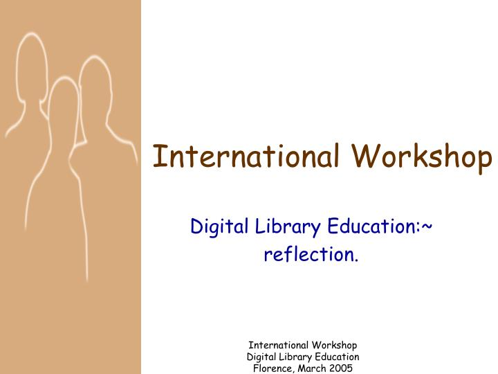 international workshop n.