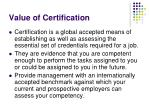 value of certification1