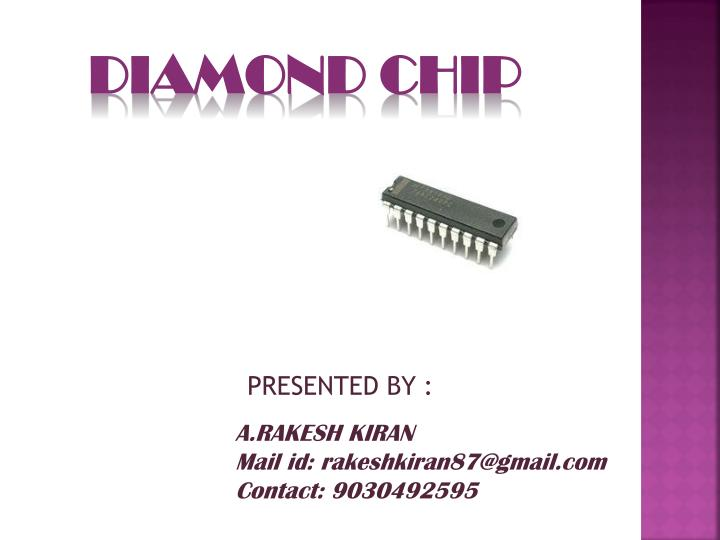 diamond chip n.
