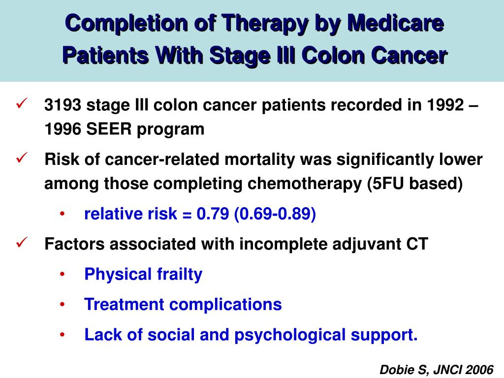 PPT - Advances in the adjuvant treatment of colorectal cancer