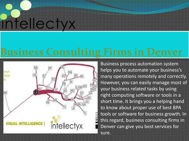 Business consulting firms in denver