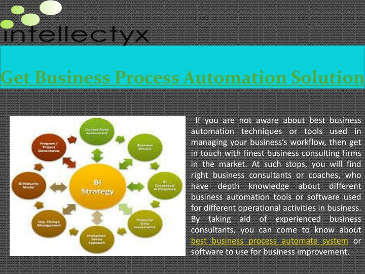 Get business process automation solution
