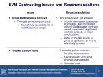 evm contracting issues and recommendations3
