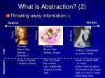 what is abstraction 2