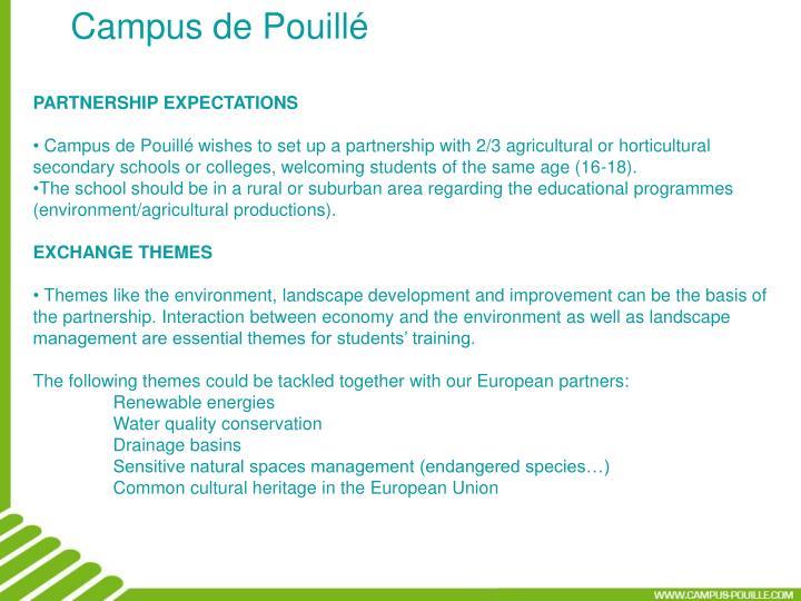 Campus de Pouillé