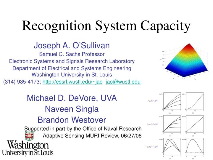recognition system capacity n.
