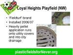 loyal heights playfield nw