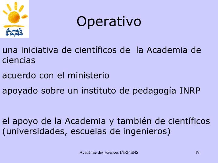 Operativo