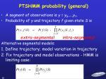 ptshmm probability general